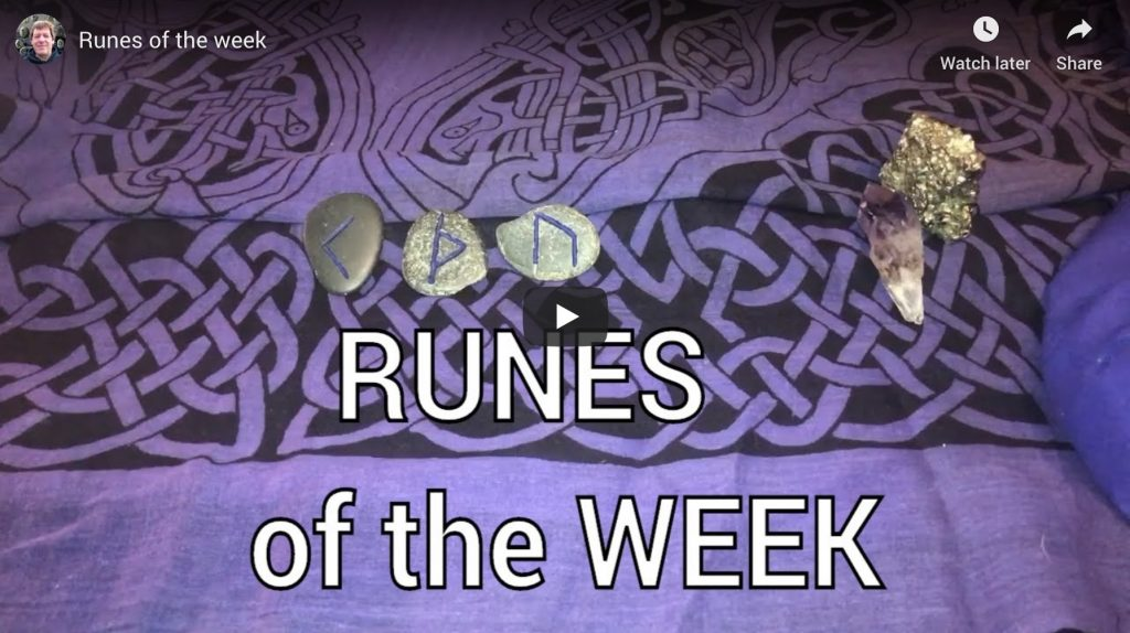 Runes for the week